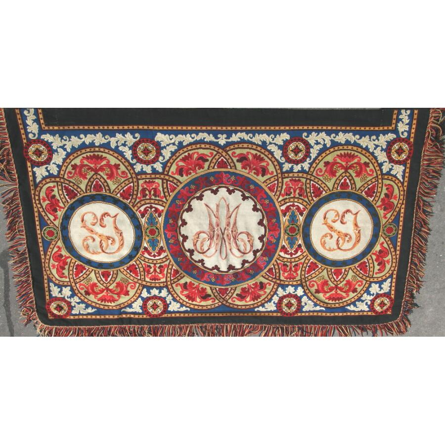 Tapestry canevas circa 1860