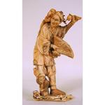 Okimono en ivoire