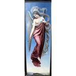 """Peinture H/Bois attribuée à Luc Olivier Merson 1846-1920 """"Ange"""""""