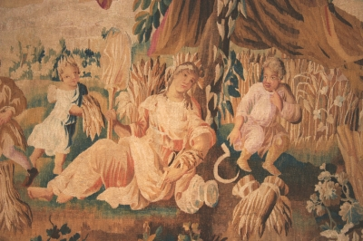 AUBUSSON TAPESTRY 18 th