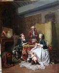 Francois CLAUDINS COMPTE CALIX 1813-1880