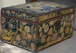 Chest with tapestry 17th