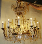 Pair of chandeliers circa 1940