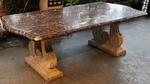 Table marbre et pierre 1940