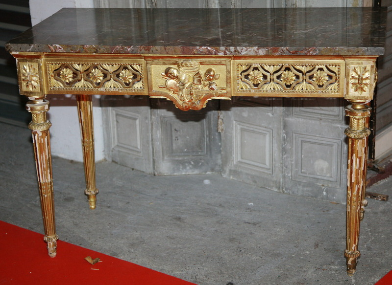 Table console Louis XVI