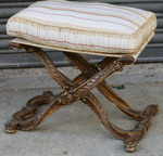 Folding stool circa 1880