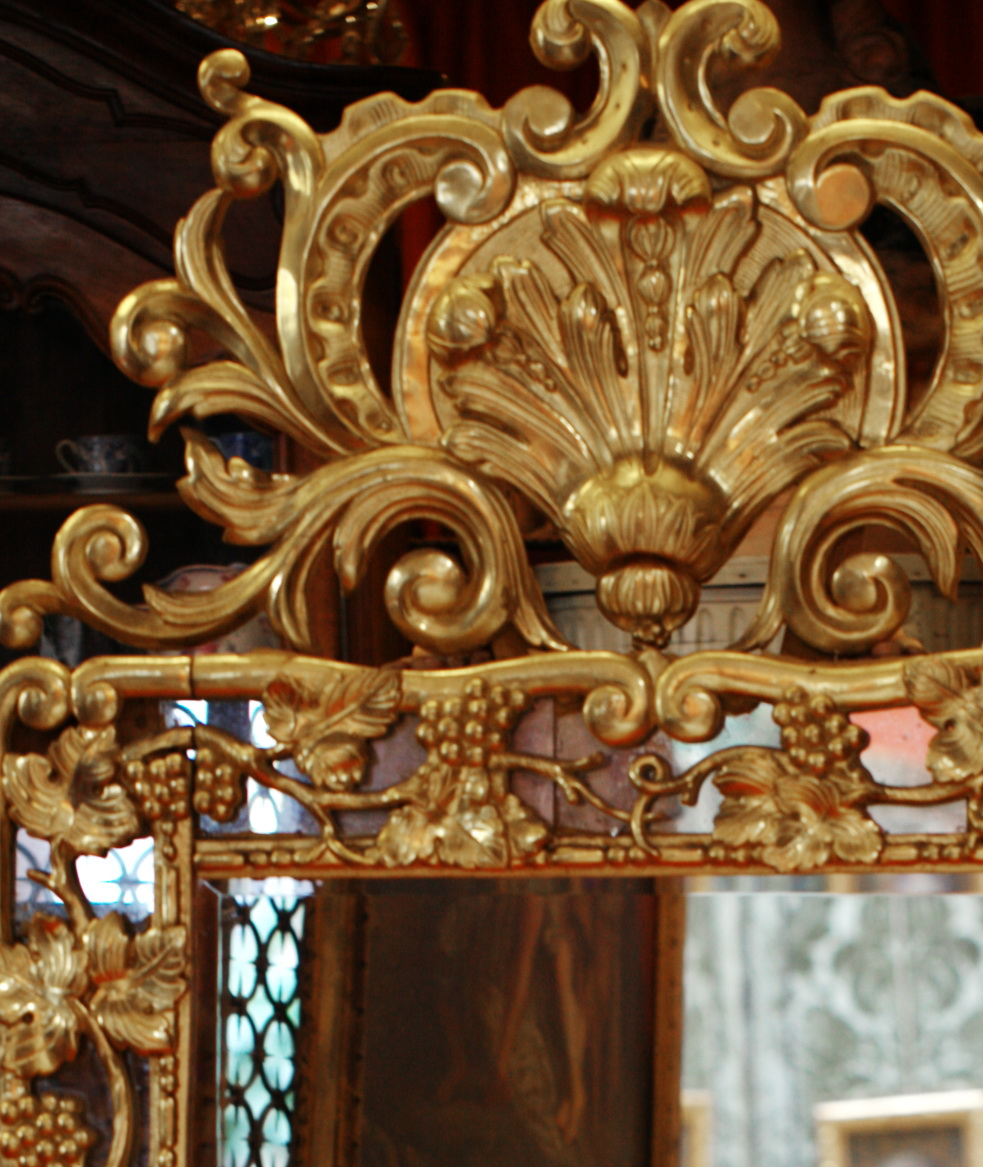 Mirror circa 1850