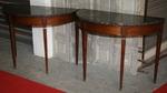 Pair of consoles  tables circa 1800
