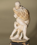 French School 19th carved ivory