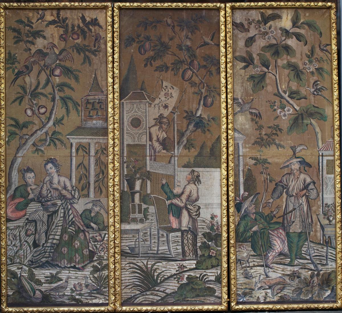 6 panneaux XVIII