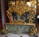 Décor de lit Vénitien XVIIIème