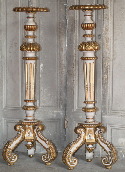 Pair of candelabra circa 1880