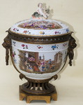 Porcelain incense burner circa 1880
