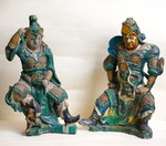 Two warriors China MING time