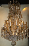 Cage chandelier Louis XV style circa 1880