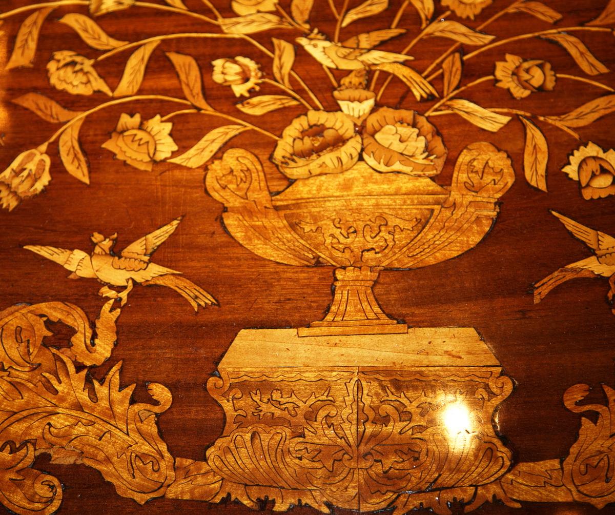 Table cabaret hollande fin XVIII
