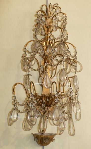 paire d'appliques style Louis XVI  XXème