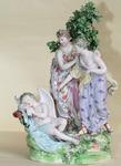 Porcelaine anglaise fin XVIII ème