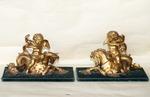 Paire de bronzes style Régence