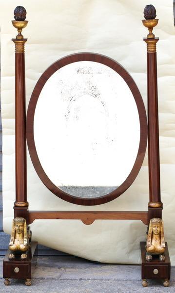 Miroir de toilette Empire