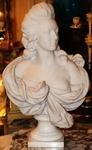Buste Marie Antoinette circa 1880