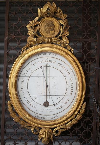 Baromètre fin XVIII