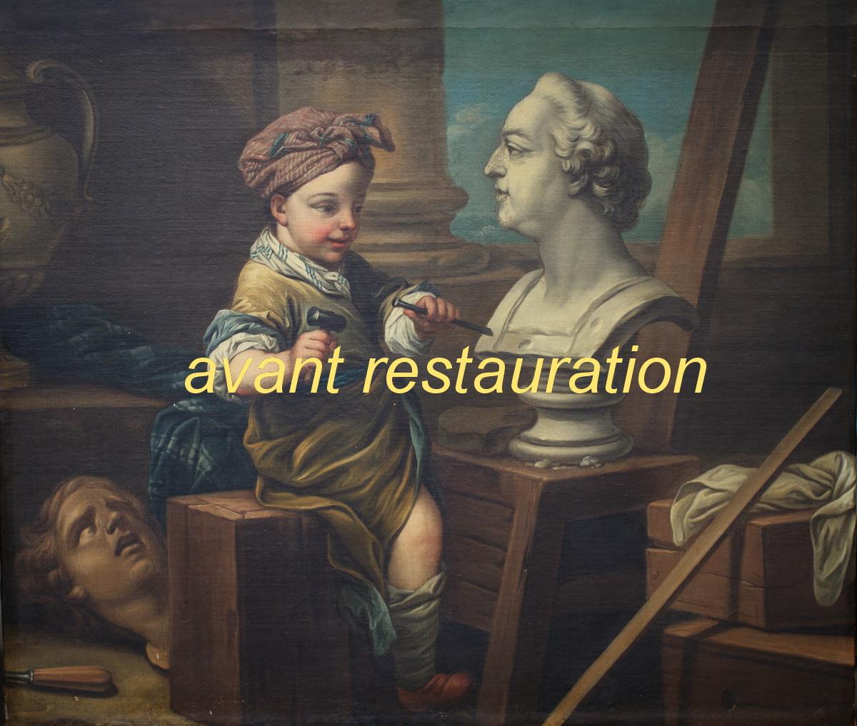 Carle Van Loo 1705-1765 follower