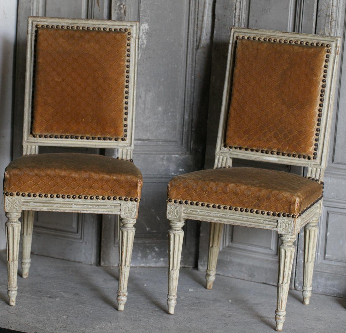 chaises d 39 enfant poque louis xvi. Black Bedroom Furniture Sets. Home Design Ideas