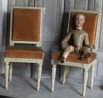 Chaises d'enfant époque Louis XVI