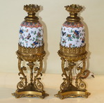 Paire de lampes GOTTEN Place des Victoires 1850