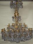 Lustre 30 bras de lumières circa 1860