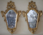 Mirror pair of sconces Italy late eighteenth