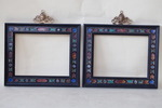Pair of frames Renaissance end XIX
