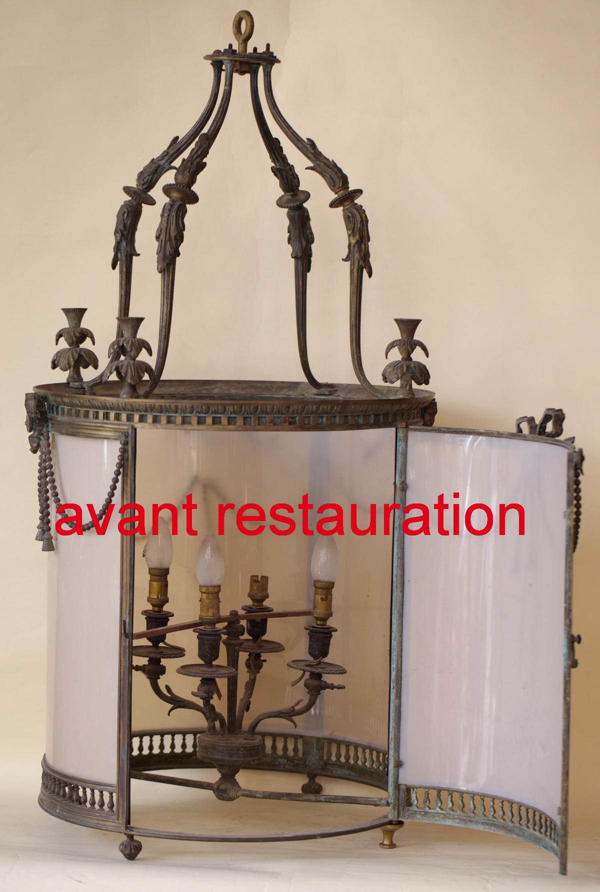 lanterne style louis xvi circa 1860. Black Bedroom Furniture Sets. Home Design Ideas