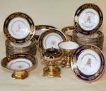 Porcelain dessert service Paris circa 1830
