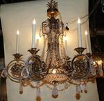 chandelier style italy XVIII beginning XX