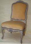 Chaise basse à la Reine époque Louis XV