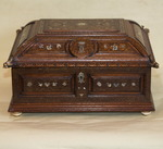 Walnut cabinet in Italy 1860
