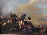 jacques COURTOIS 1621-1676 entourage de