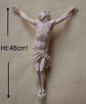 Christ en ivoire XVII ème
