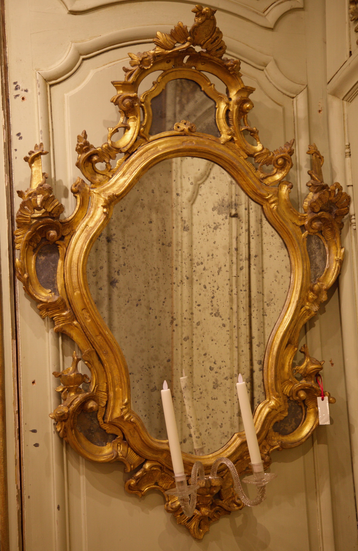 Pair of mirrors 18th