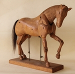 Mannequin de cheval circa 1930