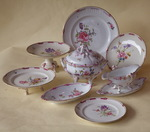 Tableware earthenware Luneville
