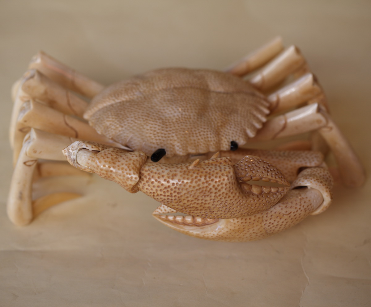 Articulated crab JAPAN early XX