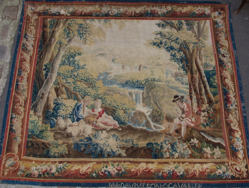 Tapestry AUBUSSON 18th