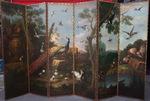 Ecole Hollandaise vers 1740 Paravent