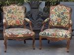 Paire de fauteuils époque Louis XV