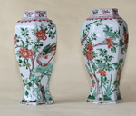 Chine XVIII paire de vases