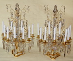 Pair of candlesticks circa 1880