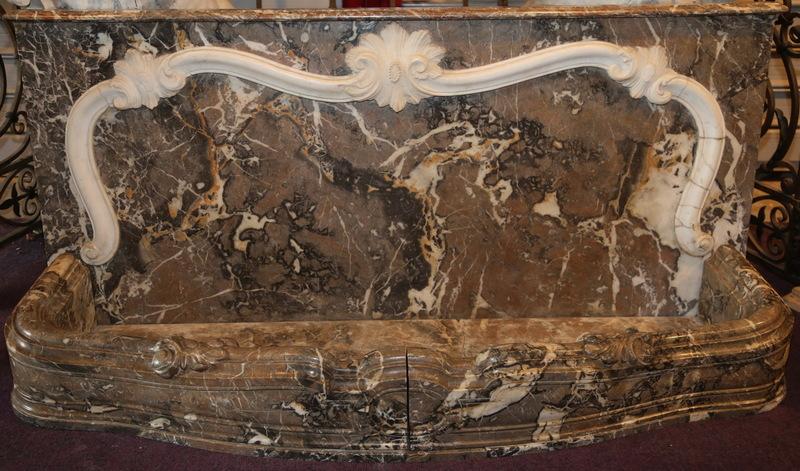 Rafraichissoir en marbre époque Louis XV
